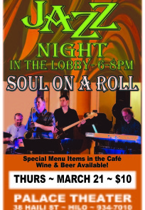 jazz night new MARCH 2019