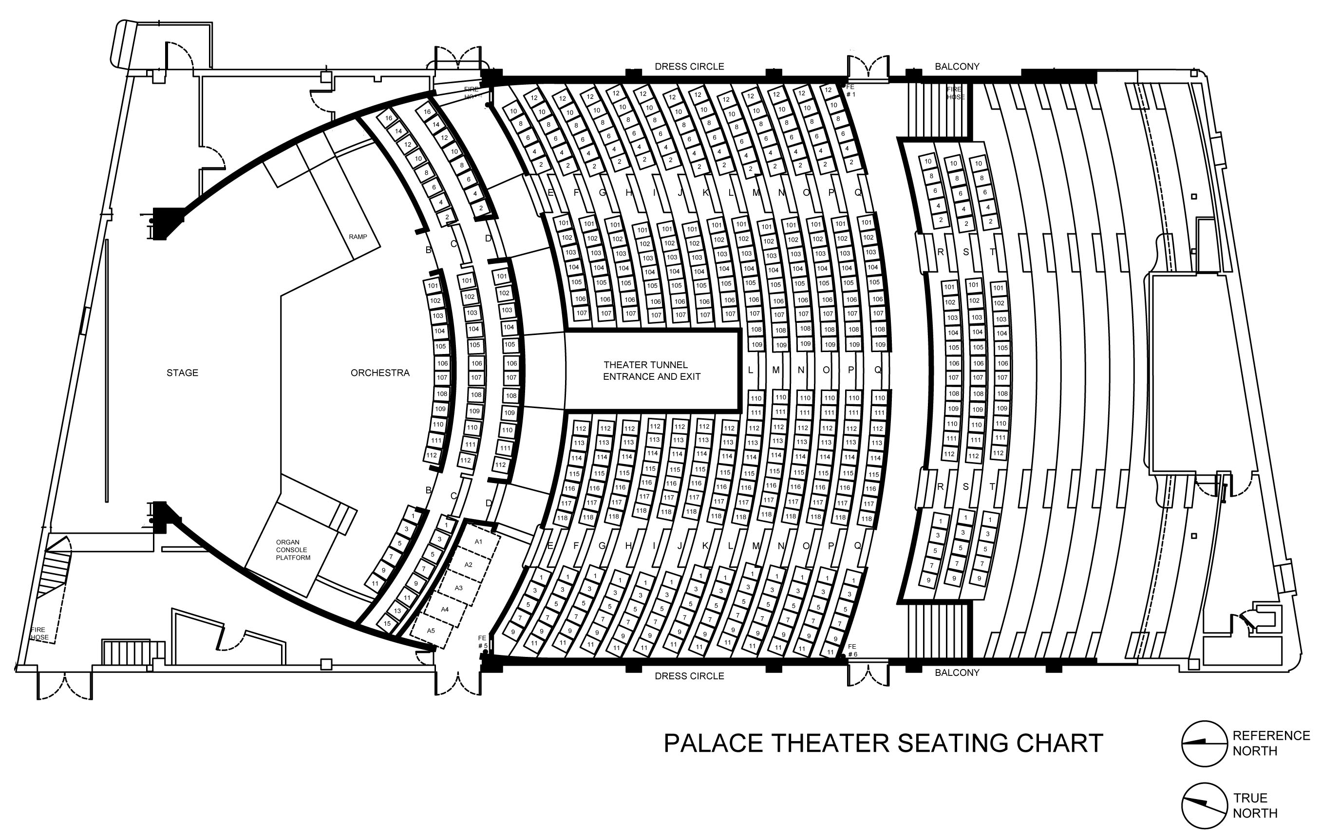 Seating Chart The Palace Theater Hilo Hawaii
