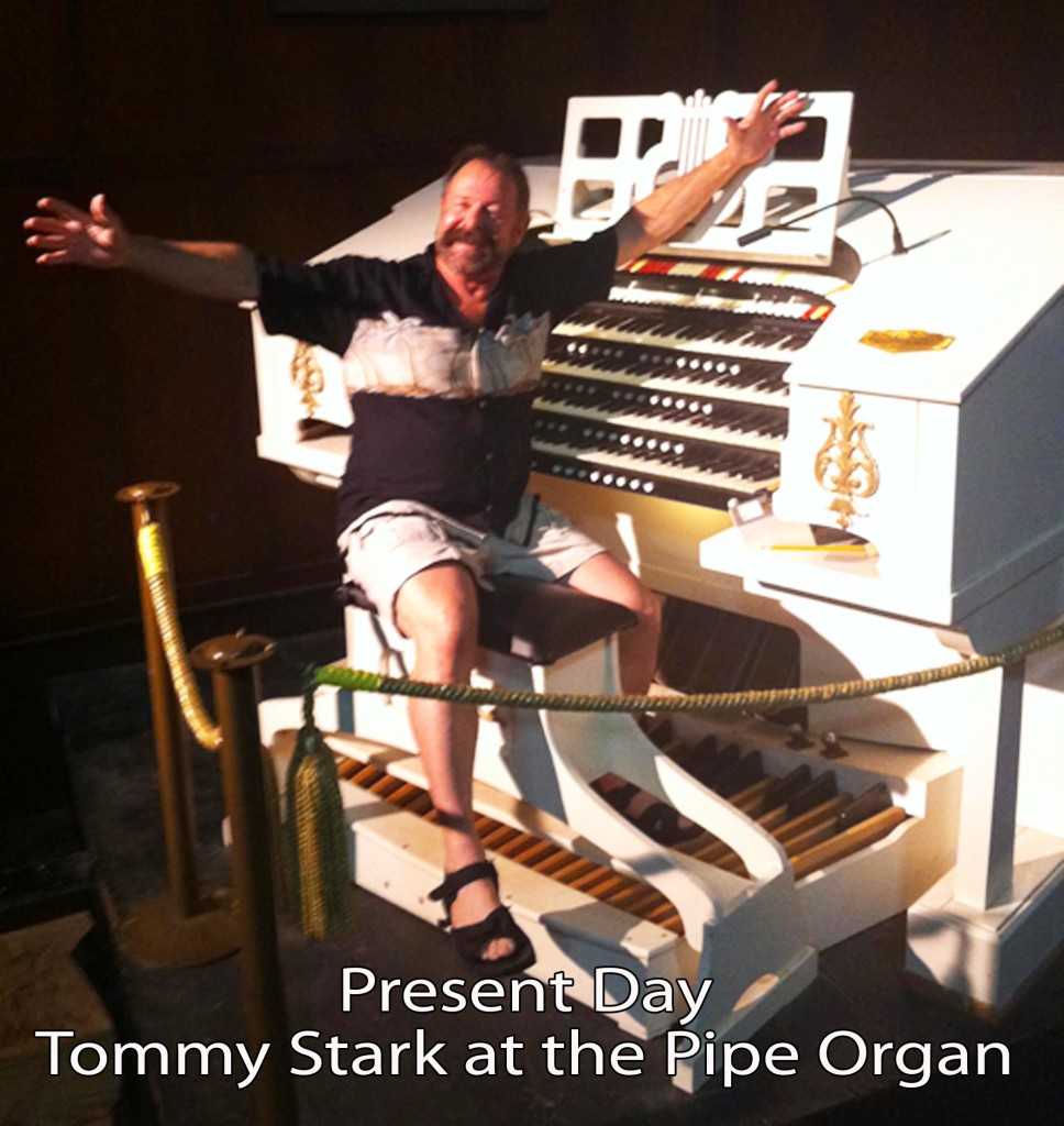 b1 <alt=Present Day - Tommy Stark at the pipe organ