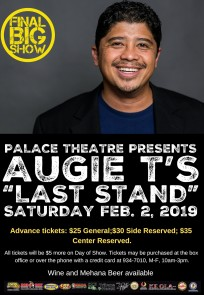 Augie T POSTER